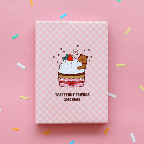 TOFFEENUT FRIENDS 토피넛 프렌즈 2020 DIARY
