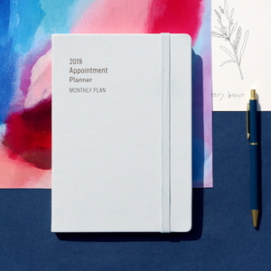 2019 Appointment Planner [A5 Monthly Plan]